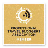 Badge of Professional Travel Blogger Association